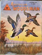 American Woodsman Magazine - September 1955 (Hunting Fishing Trapping)