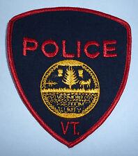 "OBSOLETE US POLICE PATCH  ""VT"""
