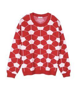 RARE Gosha Rubchinskiy Opening Ceremony Red Football Sweater (Read Description)