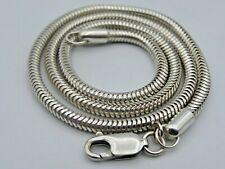 Schlangenkette 925 Silber Kette (A23)