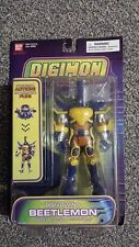 Digimon Digivolving Beetlemon Action Figure Brand New Ban Dai