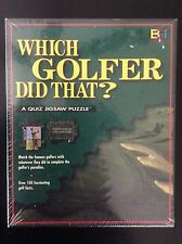 """Which Golfer Did That? Quiz Jigsaw Puzzle 252 Pieces 18 3/4"""" x 24"""" New!"""