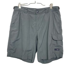 Columbia shorts gray omni dry packable outdoor adventure hiking GRT womens 8