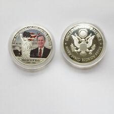 US President george h.w. Bush Eagle Commemorative Coin Make America Great Again