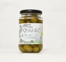 Olives Vertes Bio dénoyautées (huile d'olive)