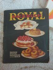 Altes Backbuch Royal von 1929