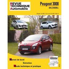 3008 09- Revue Technique Peugeot Etat - Bon Etat Occasion