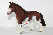 Schleich 13808 Clydesdale Stute Pferd 17 x 12cm