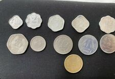 INDIA Lot 11 COINS  Some R Vintage-  1,2,3,5,10,20,25,50 Paise , 1,2 5 Rupees