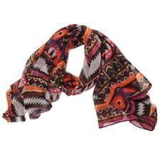 Bufanda de mujer de color principal marrón