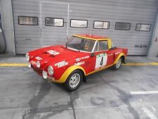 FIAT 124 Abarth Rallye Portugal TAP 1975 #4 Alen Kivimäki NEW IXO Altaya 1:18