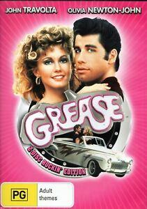 GREASE: 2-disc Rockin' Edition. Travolta/Newton-John. 2 x R4 DVDs