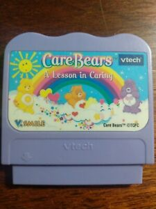 VTECH VSMILE CARE BEARS A LESSON IN CARING *CARTRIDGE*