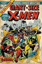 X-MEN ~ GIANT SIZE 1 COVER 24x36 COMIC ART POSTER Marvel  Xmen Gil Kane