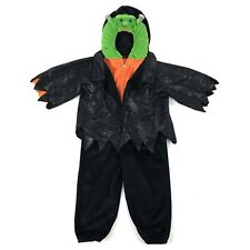 "HALLOWEEN COSTUME Kids Size 4-5 44"" Frankenstein Full Outfit Plush Soft"