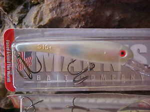 Mann's Stretch 10+ 1/4oz Walleye Crank SDRB300-3 in MOTHER OF PEARL for Walleye