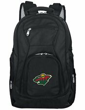 NHL Voyager Laptop Backpack, 19-inches Minnesota Wild