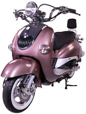 Razory R05 Mofa Mokick 50ccm Braun Classic-Cruiser Motoroller Retroroller