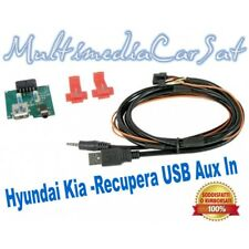 Ripristino Recupero USB AUX IN Interfaccia Modulo Hyundai I40 IX20 IX35 5803