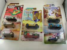 Hot Wheels Looney Tunes Car Vehicle Lot Set 2017