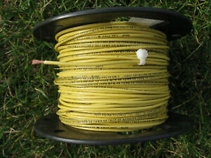 New 350' Southwire Yellow #14 AWG Stranded Copper Electrical Wire THHN THWN MTW