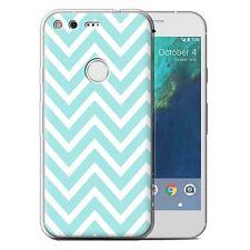 Stuff4 Gel/tpu Case for Huawei Nexus 6p/winter Fashion/blue Zig Zag