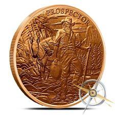 1 oz Copper Round - Provident Prospector
