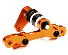 T5021ORANGE Integy Billet Machined Steering Bellcrank for HPI Savage XS Flux