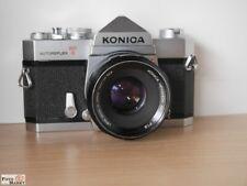 Konica Autoreflex T Reflex Camera + Lens Hexanon Ar 1,8/ 52mm Lens