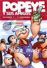 Popeye and Friends: Volume One - Popeye y sus Amigos Vol 1 en Español Latino