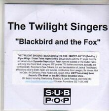(CB786) The Twilight Singers, Blackbird And The Fox - DJ CD