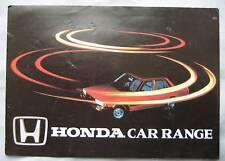 1980's Honda range Fold Out Brochure