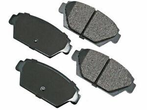 Rear Akebono Brake Pad Set fits Mitsubishi Mirage 1985-1989, 1991-1992 28CWTG