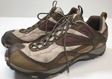 Women Merrell Shoes Size 9 Siren Sync Brown Purple Vibram Hiking Sneakers