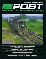 PC Post: 1st Qtr 2019 - PENN CENTRAL Railroad Historical Society - NEW Issue