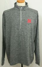 eec897432e8 New University Of Nebraska Cornhuskers Columbia Omni-Wick Power Fade  Pullover L