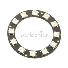 Round 5050 12-Bit RGB LED Ring WS2812 Decoration Bulb Perfect For Arduino