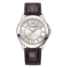 """Kenneth Cole Unlisted Men""""s Brown Leather watch UL1265A"""