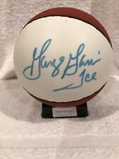 "BEAUTIFUL George Gervin ""Ice"" Auto'd Mini Basketball, San Antonio Spurs, NICE!!"