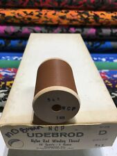Gudebrod  Fishing Rod Winding thread Ncp  Size  D.   Medium Brown  541.  1 Sp.