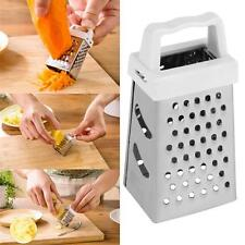 High Quality Mini 4 Sides Stainless Steel Handheld Grater Slicer Kitchen Tools