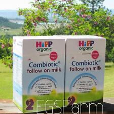 2 Boxes HiPP Organic Combiotic Follow On Milk - 2 - UK Version  800G