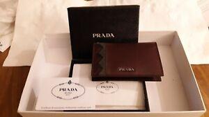 Prada Men's Bifold Card Holder