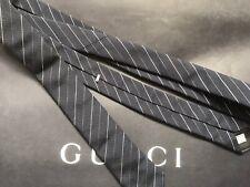 "DIOR HOMME  tie STRIPE HEDI SLIMANE 100% Silk Skinny Slim 2"""