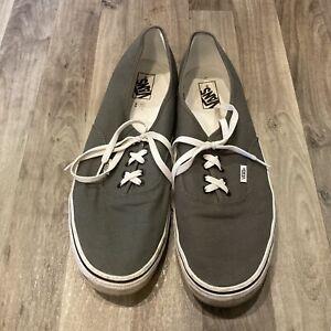 Vans Classic Sneakers Men's Canvas Shoes Size 16