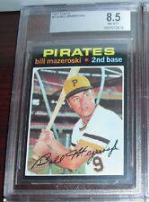 1971 Topps Baseball Bill Mazeroski Card #110 BVG 8.5 Pittsburgh Pirates