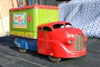 Wyandotte Railway Express Delivery Moving Truck - Pressed Steel Tin Litho - USA