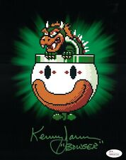 KENNY JAMES Signed BOWSER 8x10 Photo Nintendo Super Mario JSA COA
