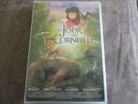 """DVD NEUF """"LE JOUR DES CORNEILLES"""" dessin anime (voix Jean Reno, Isabelle Carre,"""