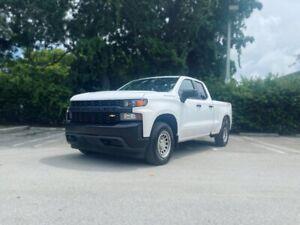 "2019 Chevrolet Silverado 1500 4WD Double Cab 147"" Work Truck"